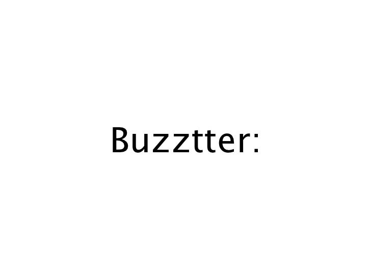 Buzztter: