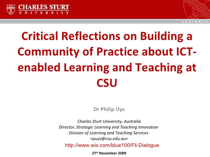 critical reflections on teaching Reflecting on teaching  a critical element to professional growth may well be the ability to identify what you did well, what you could do better, and how to make.