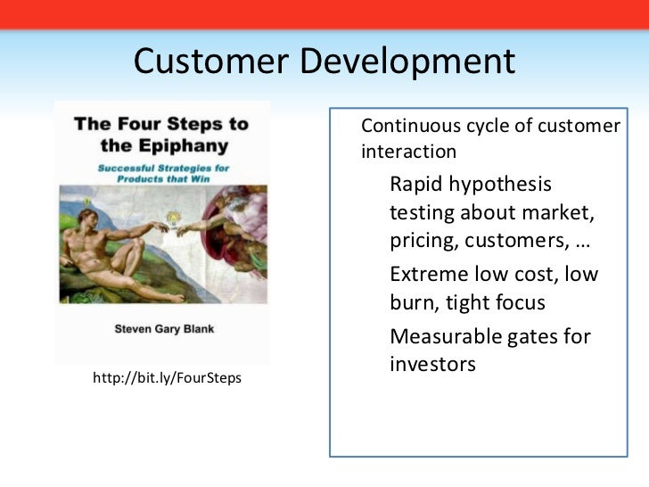 Customer Development<br /><ul><li>Continuous cycle of customer interaction