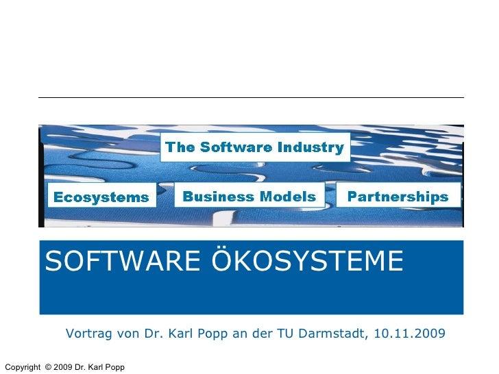 Vortrag von Dr. Karl Popp an der TU Darmstadt, 10.11.2009