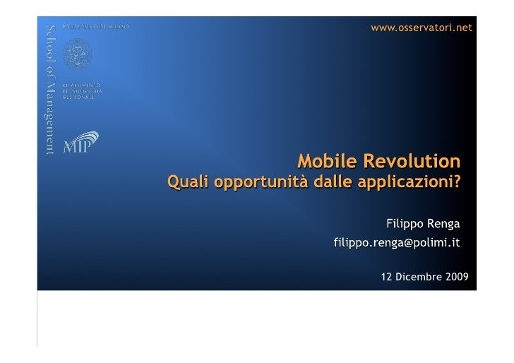 www.osservatori.net      12 Dicembre 2009