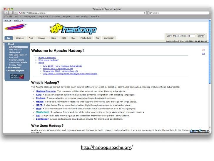 Hadoopを業務で使ってみた Slide 2
