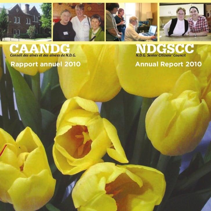 CAANDGConseil des aînés et des aînées de N.D.G.                                            NDGSCC                         ...