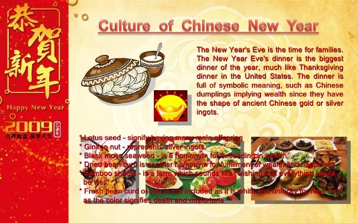 Chinese Food Symbolic Meaning