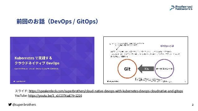 "Kubernetes で実践するクラウドネイティブ DevOps ""監視とオブザーバビリティ""編 / Cloud Native DevOps with Kubernetes (Monitoring and Observability) Slide 2"