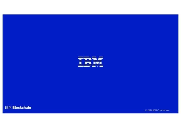 © 2020 IBM Corporation