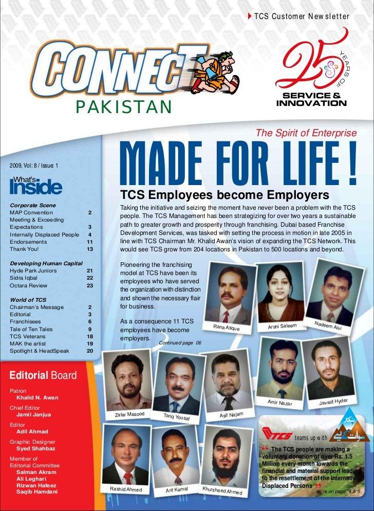 TCS Customer Newsletter                          PAKISTAN                                                                 ...