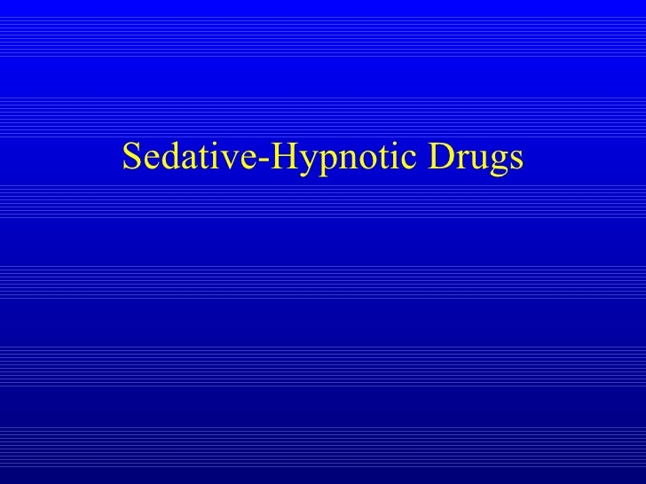 a sedative and hypnotic drug methaqualone Bmethaqualone is considered a sedative hypnotic drug with a pattern of pharmacological effects similar to those  a derivative of the hypnotic drug methaqualone.