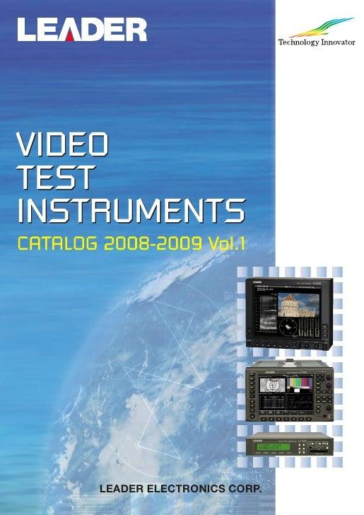 2009 Leader Video Catalog
