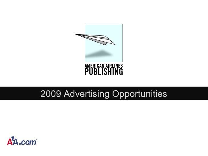 2009 Advertising Opportunities