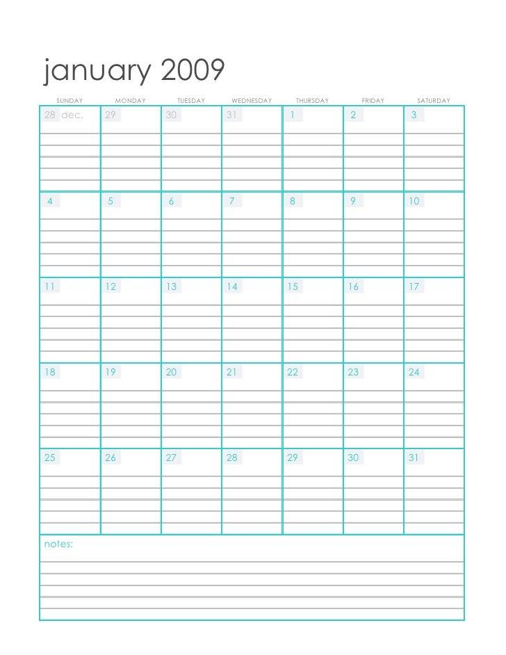 january 2009      SUNDAY       MONDAY        TUESDAY   WEDNESDAY       THURSDAY        FRIDAY       SATURDAY  28 dec.     ...