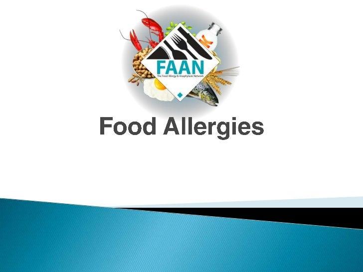 Food Allergies<br />