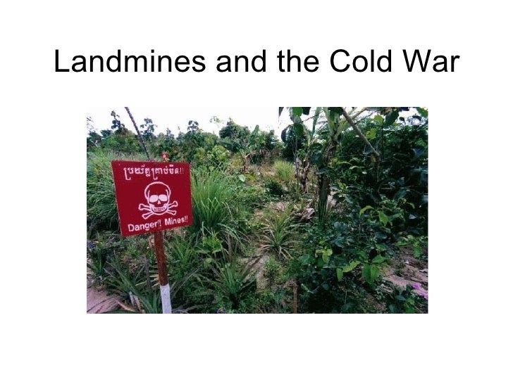 Landmines and the Cold War