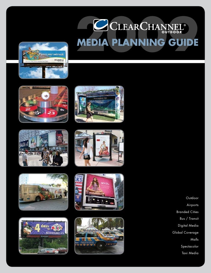2009 MEDIA PLANNING GUIDE                            Outdoor                         Airports                   Branded Ci...