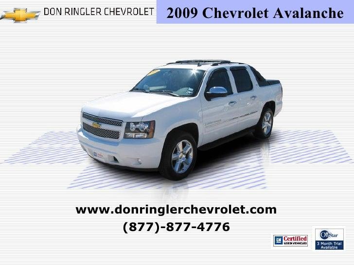 Chevrolet Avalanche Don Ringler Chevy Dealer Austin TX - Chevrolet dealers in austin tx