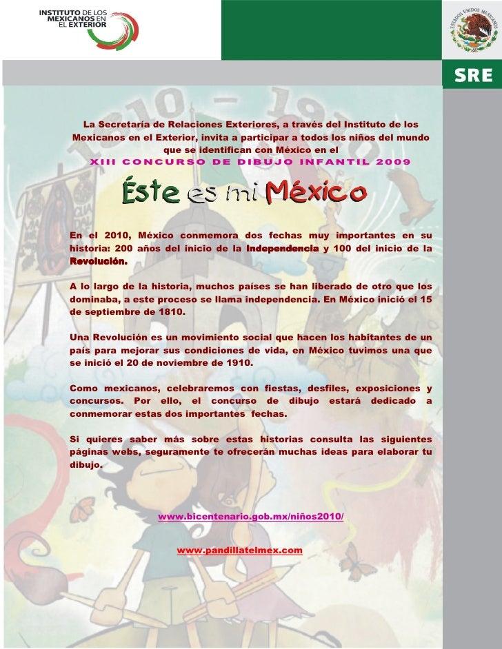 La Secretaría de Relaciones Exteriores, a través del Instituto de los Mexicanos en el Exterior, invita a participar a todo...