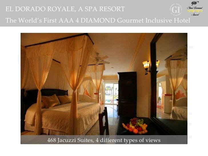 El dorado royale a spa resort by karisma for El dorado cabins