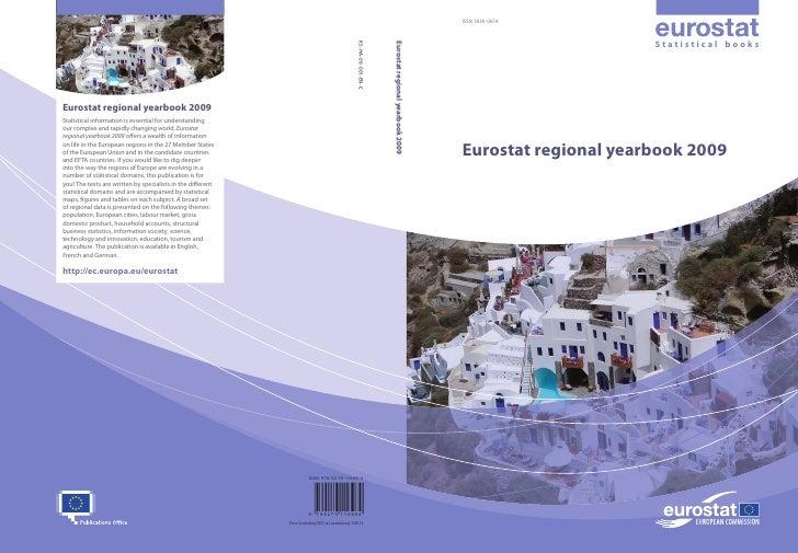 ISSN 1830-9674                          Statistical books     Eurostat regional yearbook 2009