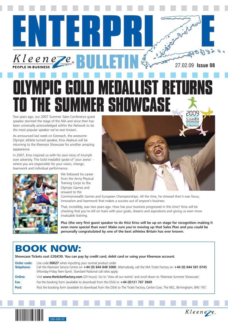 BULLETIN                                                                                                   27.02.09 Issue ...