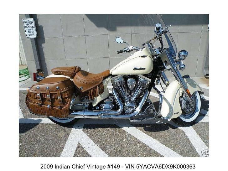 2009 Indian Chief Vintage #149 - VIN 5YACVA6DX9K000363
