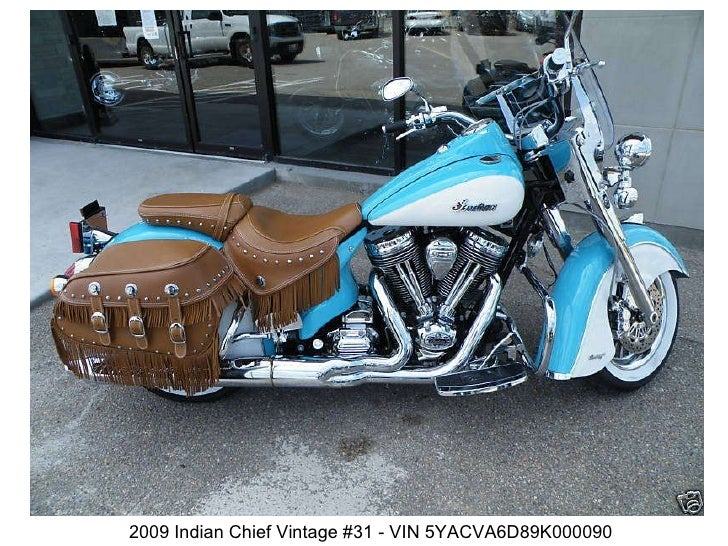 2009 Indian Chief Vintage #31 - VIN 5YACVA6D89K000090