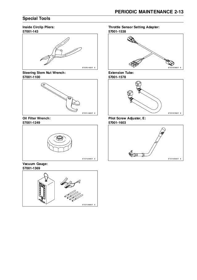 2009 kawasaki er 6 f (ex650c9f d9f) service manual