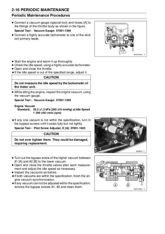 kawasaki ex650 2009 workshop repair service manual pdf