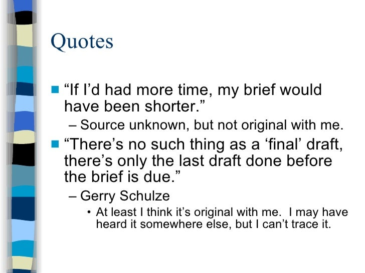 how to properly write a quote