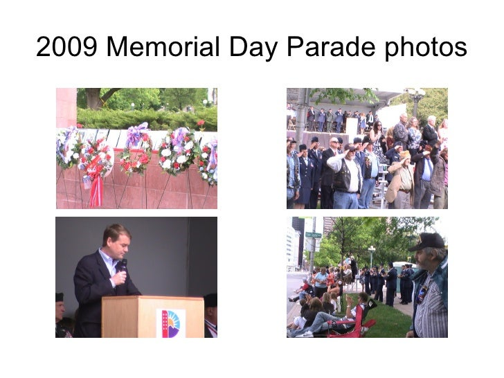 2009 Memorial Day Parade photos
