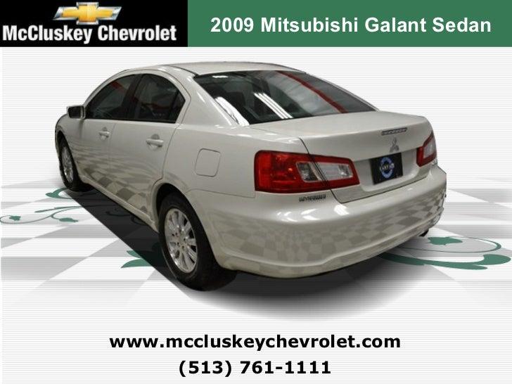 Used 2009 Mitsubishi Galant Sedan At Mccluskey Kings