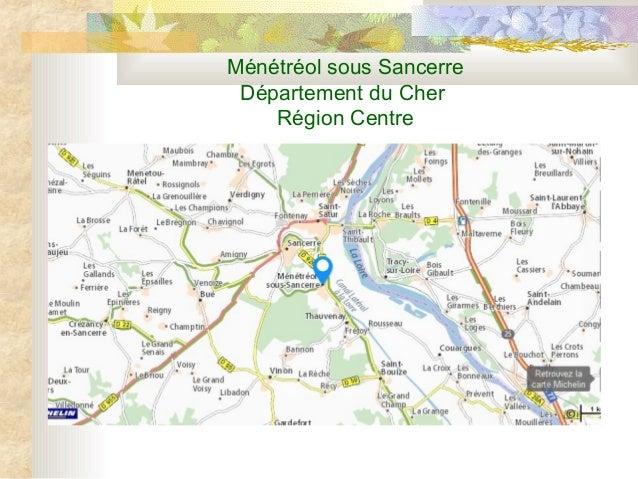Ménétréol sous Sancerre Département du Cher Région Centre
