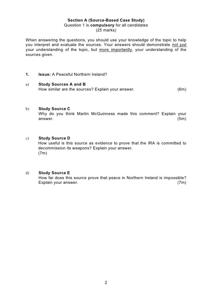 2009 My Social Studies 4 Exp Question Paper For Nhhs Slide 2