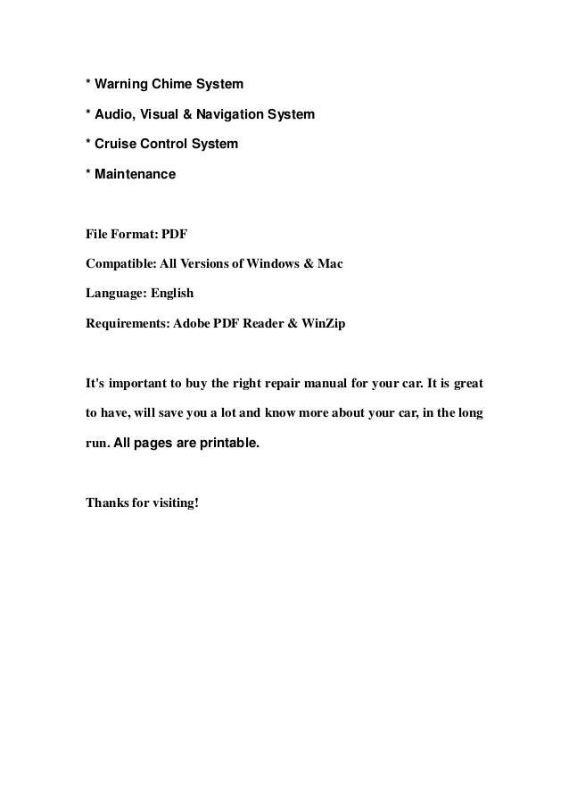 2009 nissan pathfinder service repair manual download