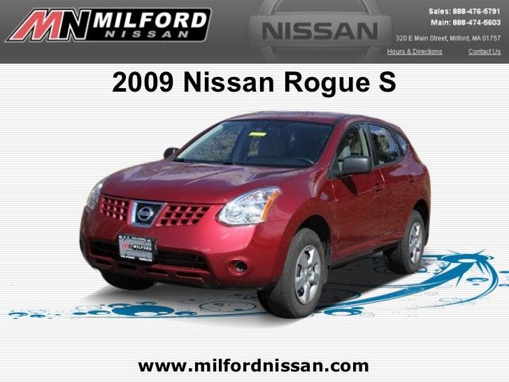2009 Nissan Rogue S www.milfordnissan.com