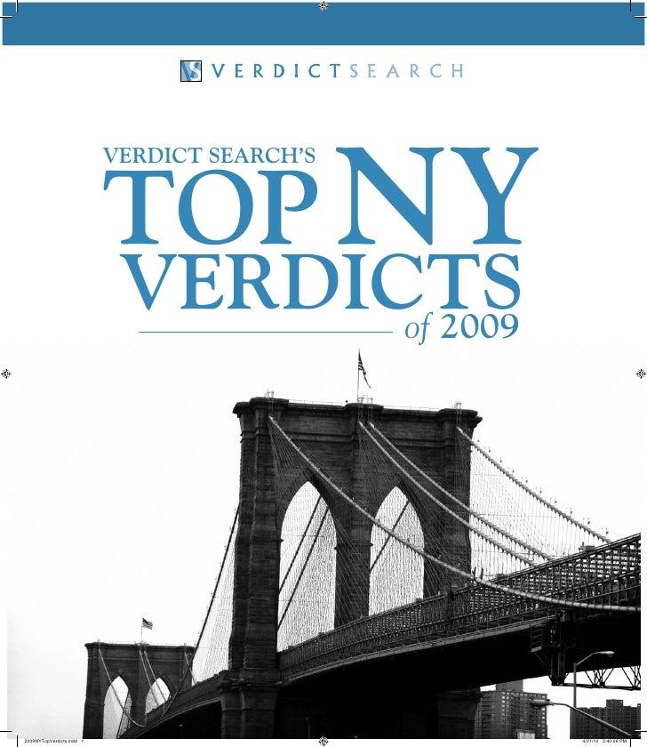 top NY                            Verdict Search'S                                 VerdictS                               ...