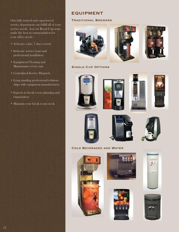 Royal Cup Coffee Office Coffee Catalog