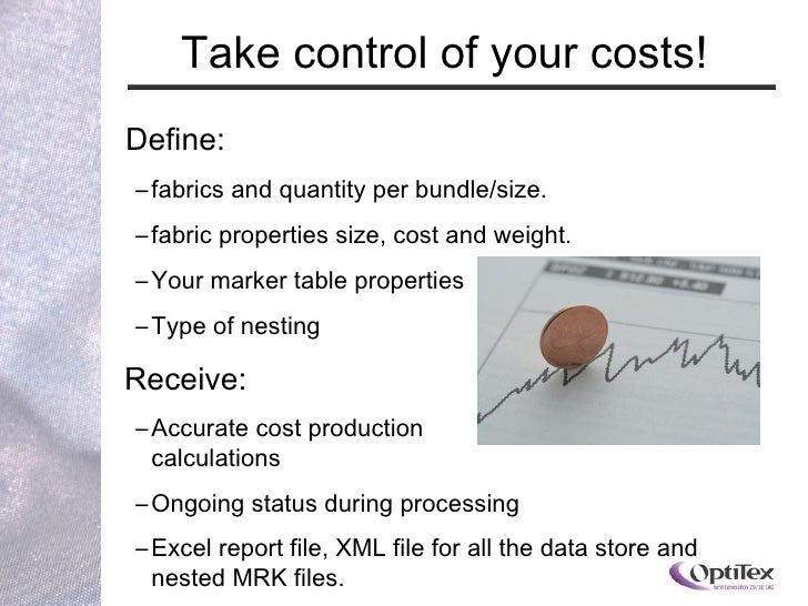 2010 OptiTex Cutplan Presentation
