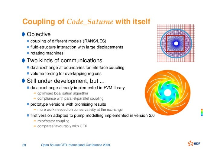 Presentation of the open source CFD code Code_Saturne