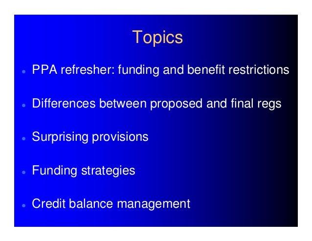 2009 pension funding regulations Slide 3