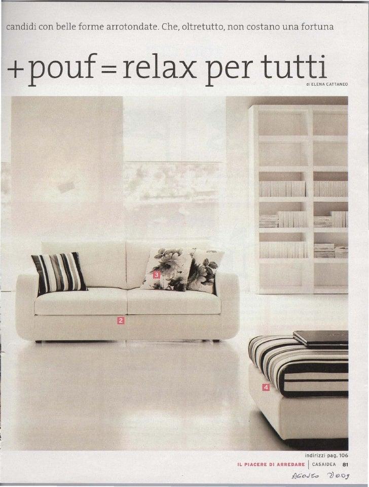 2009 Ditre Italia Divani Rassegna Stampa