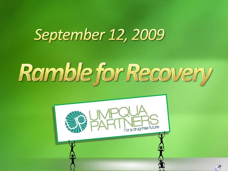 September 12, 2009<br />Ramble for Recovery<br />