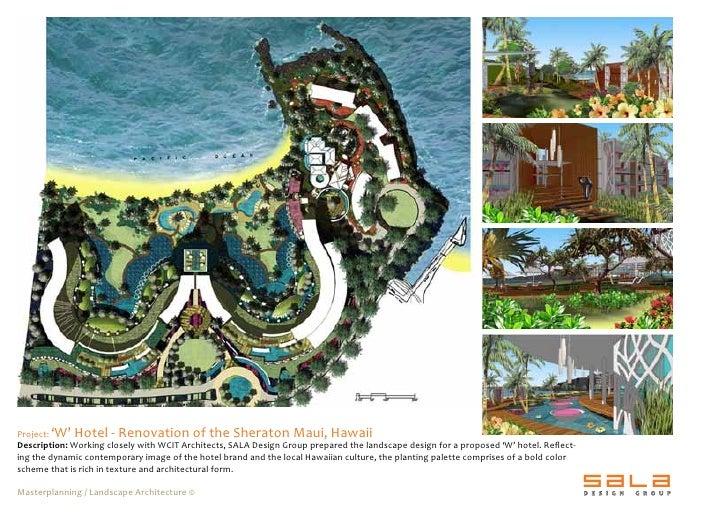 2009 sala design group portfolio for Design hotel group