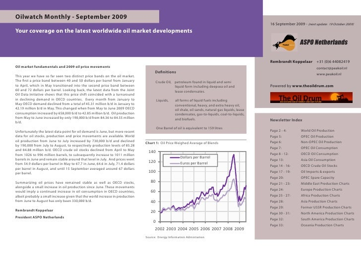 Oilwatch Monthly - September 2009                                                                                         ...