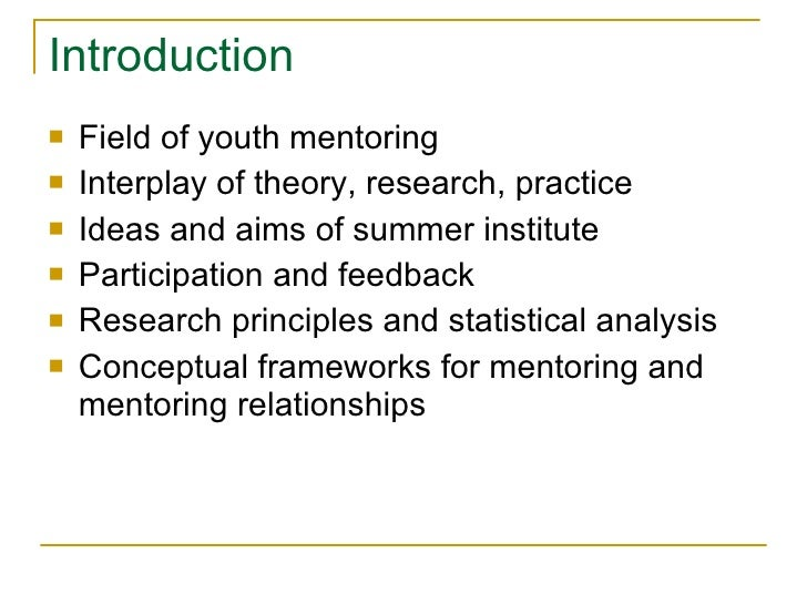mentoring theory analysis Browse learning theory and mentoring content selected by the elearning learning community elearning trends for 2018 in the first phase, analysis.