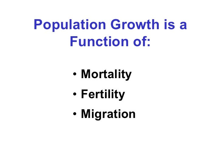 Is water a limiting factor for population growth in South