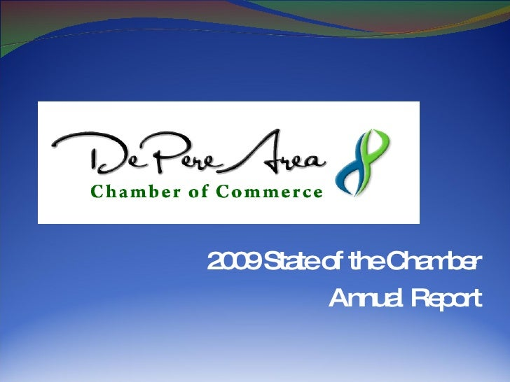 2009 State of the Chamber Annual Report