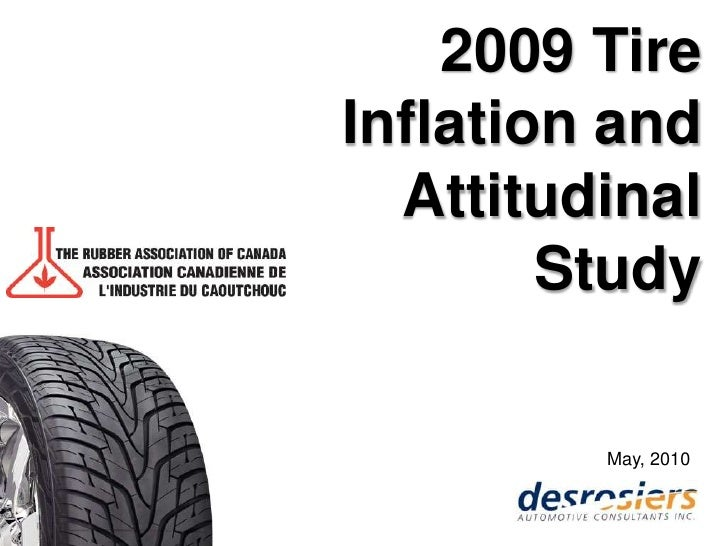2009 Tire Inflation and Attitudinal Study<br />May, 2010<br />