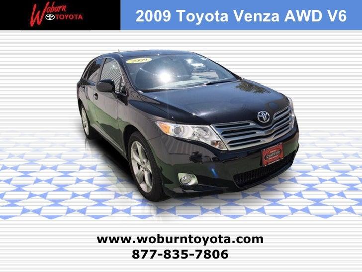 2009 Toyota Venza AWD V6 For Sale Boston