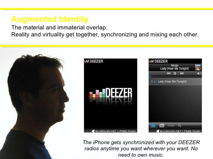 Augmented Identity The material and immaterial overlap. Reality and virtuality get together, synchronizing and mixing each...