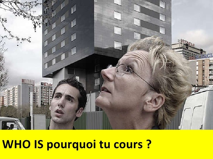 WHO IS pourquoi tu cours ?